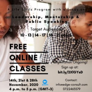 A Life Skills Program For Pre Teens, Teens and Young Adults